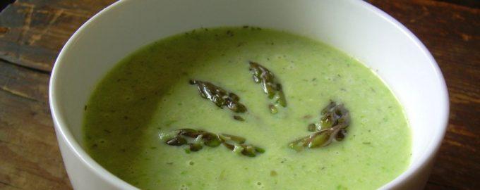 Kreminė smidrų sriuba