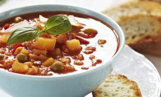 Minestrone - itališka daržovių sriuba