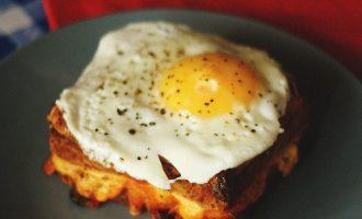 Prancūziški krok-madam sumuštiniai
