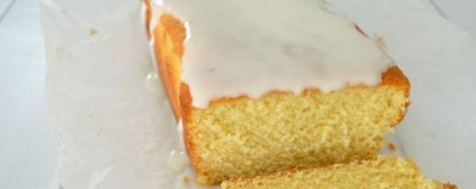 Glazūruotas veganiškas citrinų biskvitas