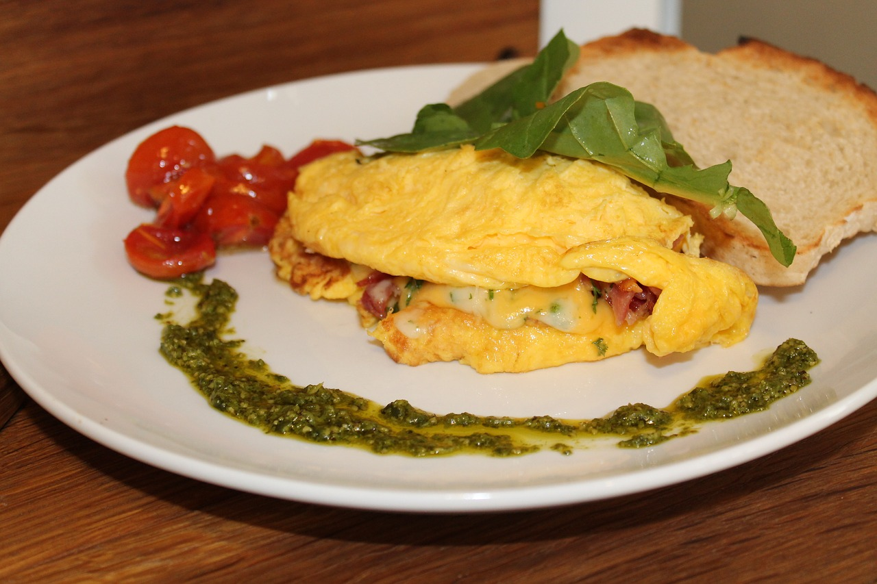 Sotus bei purus omletas