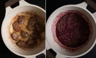 Burgundiškas jautienos troškinys