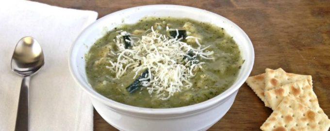 Kreminė cukinijų ir vištienos sriuba