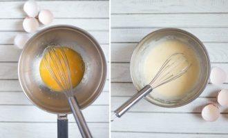 Hollandaise padažas prie benedikto kiaušinių